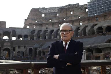 Premio presidio culturale italiano ad Ennio Morricone