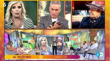 Amador Mohedano deja las cosas claras a las Campos