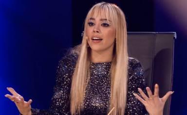 """Danna Paola revela en directo en 'Top Star' uno de sus peores momentos en el amor: """"Me hacía sentir ordinaria"""""""