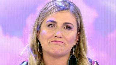 Carlota Corredera se rompe a llorar tras reconocer que lo está pasando fatal por el fracaso de 'Sálvame'