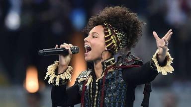 Alicia Keys, en el Millenial Stadium de Cardiff (Gales), en 2016