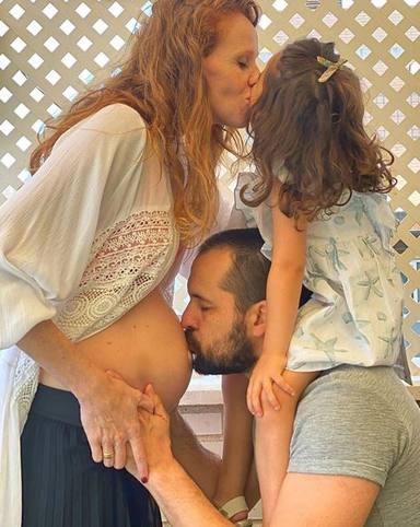 La bonita imagen con la que María Castro ha anunciado su segundo embarazo