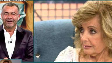 Deluxe: María Teresa Campos enfado Jorge Javier Vázquez