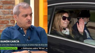 Ramón García se emociona al recordar su conversación con Ana Obregón tras la muerte de su hijo Álex Lequio