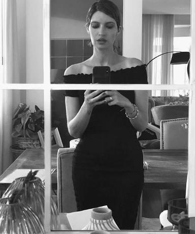 Sara Carbonero y sus selfies en el espejo
