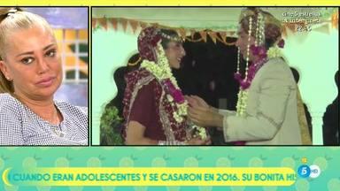 Belén Esteban da el pésame a Paz Padilla tras la muerte de su marido