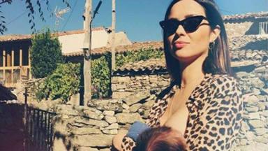 Dafne Fernández cuenta su experiencia con la lactancia materna y lanza un potente mensaje