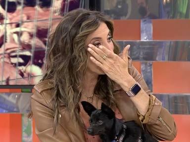 Paz Padilla se emociona perra Martina