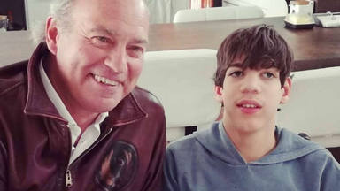 Bertín Osborne y su hijo Kike palabras