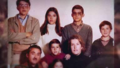 Juan y Medio y su familia