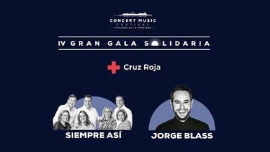 Cruz Roja presenta la gran gala solidaria que organiza Concert Music Festival en beneficio de la entidad