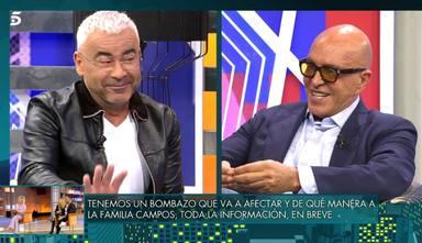 Las palabras de Jorge Javier en 'Viernes Deluxe' provocan una consecuencia drástica en Telecinco