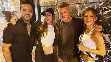 """Alejandro Sanz y reunión de amigos junto a Tini, Luis Fonsi y Greeicy: """"¡La cena de ayer sonó de maravilla!"""""""