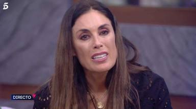 Isabel Rábago llorando en una imagen dentro de la casa de Secret Story
