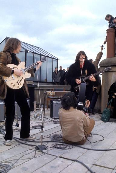 Último concierto de los Beatles. Tejado de las oficinas de Apple Corps Ltd