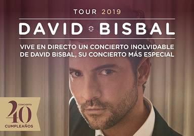 David Bisbal ofrecerá su concierto en el Teatro Real de Madrid por internet