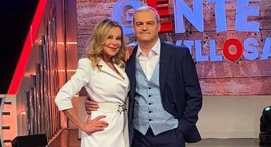Ramón García y Ana Obregón se reencuentran en Gente maravillosa
