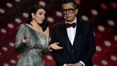 Silvia Abril y Andreu Buenafuente presentaron los Premios Goya
