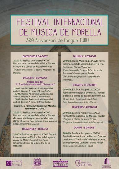 Festival Música Morella