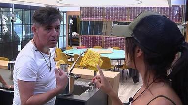 Ángel Garó y Aurah Ruiz en GH VIP 6