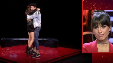 Abrazos que hablan más que mil palabras: la ilusión de Estela Grande y Kiko Jiménez al reencontrarse en 'GH VI