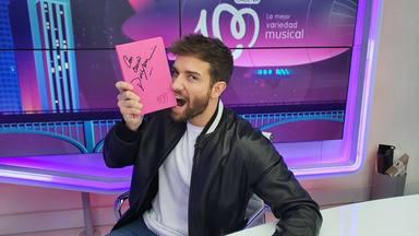¿Quieres ganar esta libreta de CADENA 100 firmada por Pablo Alborán?