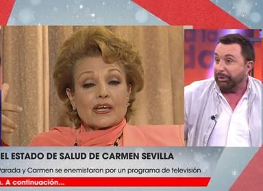 El estado de salud de Carmen Sevilla