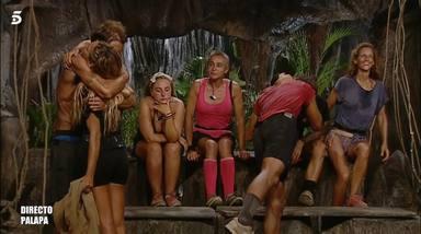 El frío abrazo entre Ivana y Hugo en Supervivientes