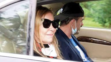 Ana Obregon y Lequio llegan a Madrid