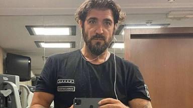 Antonio Orozco en el gimnasio