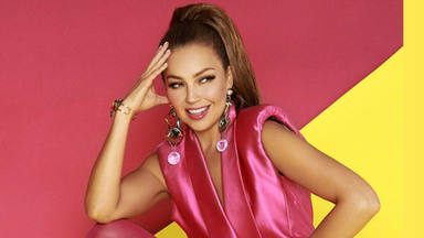 """Thalia sorprende con """"Feliz Navidad"""", poniendo ritmo al clásico de José Feliciano y Boney M"""