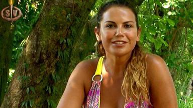 Katia Aveiro en Supervivientes