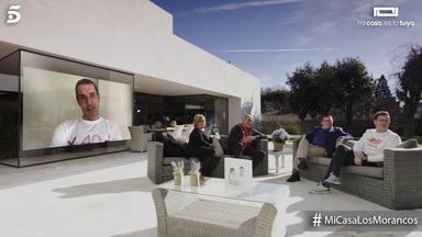 Jesús Vázquez manda un mensaje de Los Morancos en 'Mi casa es la tuya'