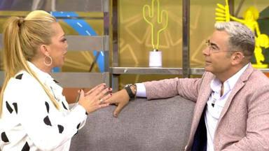 El cara a cara entre Belén Esteban y Jorge Javier Vázquez: ''he llorado mucho''