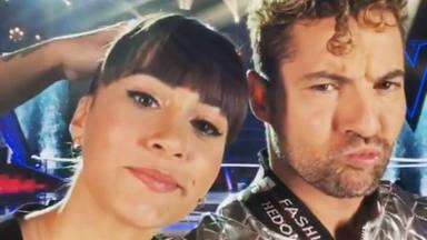 Aitana y David Bisbal, complicidad absoluta en sus primeras grabaciones de 'La Voz Kids'