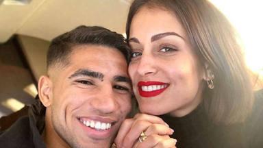 El detalle de la última foto de Hiba Abouk y Achraf Hakimi que desvelaría una boda secreta