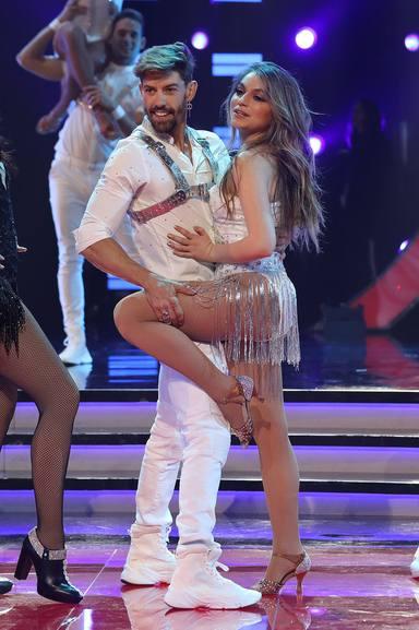 Adrián Lastra durante su paso por Mira Quién Baila All Stars