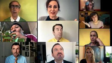 El vídeo viral de los actores de Camera Café para hacernos reír en la cuarentena