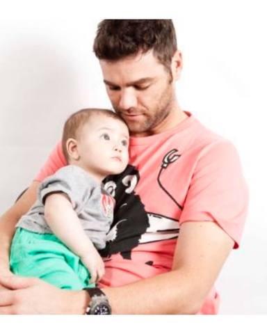 Fonsi Nieto junto al hijo que tiene en común con Alba Carrillo