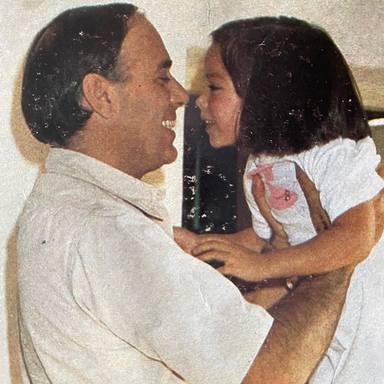 Tamara Falcó junto a su padre marques de Griñón