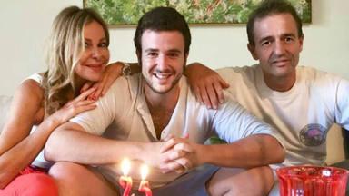 Ana Obregón y Alessandro Lequio 28 cumpleaños Álex Lequio