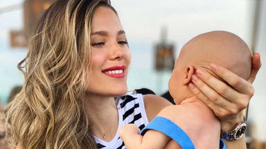 Lorena Gómez celebra el octavo mes de nacimiento de su hijo de la forma más bella posible