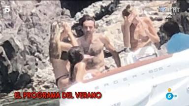 Enrique Ponce de vacaciones con la familia de Ana Soria