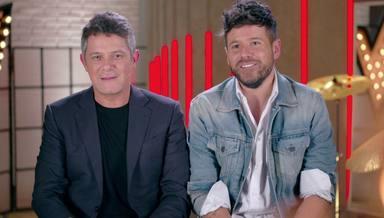 Pablo López y Alejandro Sanz, admiración mutua y gran amistad
