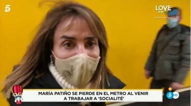 La criticada experiencia de María Patiño en el metro de Madrid