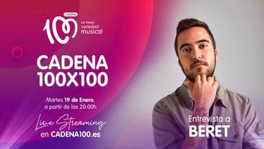 Beret, protagonista de CADENA 100x100 con Mateo & Andrea