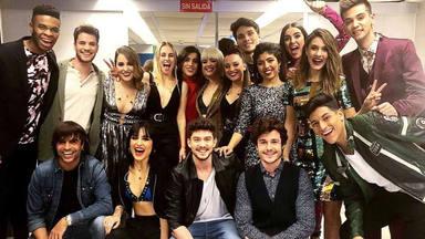 Los concursantes de 'OT 2018' en el primer concierto de la gira de 'Operación Triunfo'