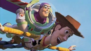 Woody y Buzz Lightyear en Toy Story