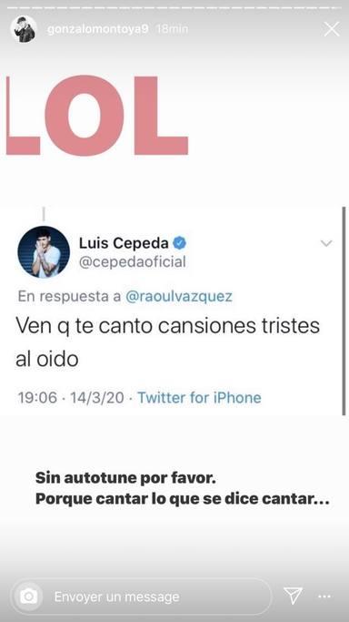 La guerra abierta entre Gonzalo Montoya y Luis Cepeda