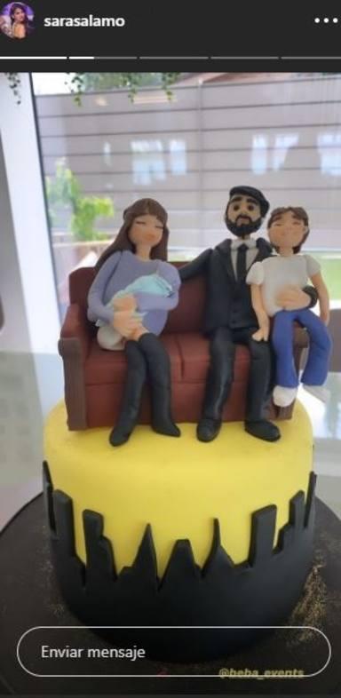 La espectacular tarta de cumpleaños de Isco Alarcón